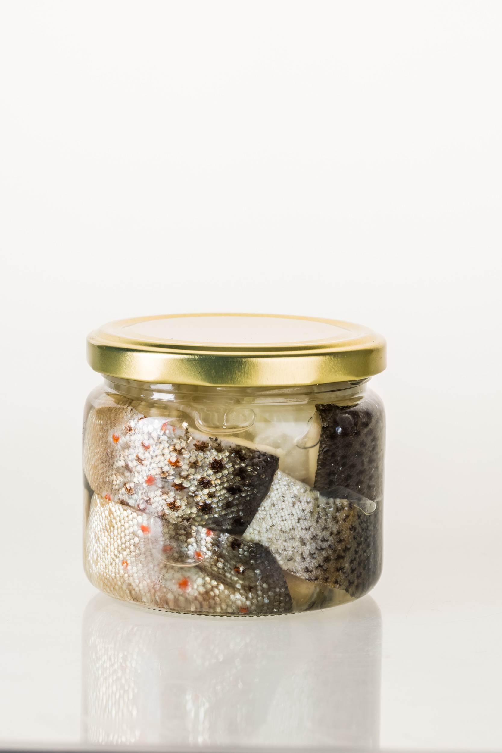 Fischfarm Sigleß - Eingelegter Fisch im Glas